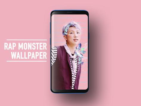 BTS Rap Monster Wallpapers KPOP Fans HD screenshot 4