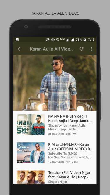 Karan Aujla : Karan Aujla All Video Songs for Android - APK