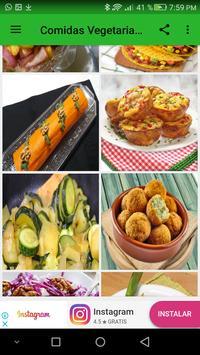 Comidas vegetarianas screenshot 3