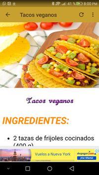 Comidas vegetarianas screenshot 7