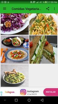 Comidas vegetarianas screenshot 4