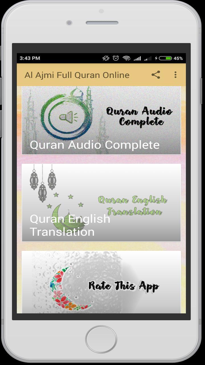 Ahmed Al Ajmi Full Quran Online for Android - APK Download