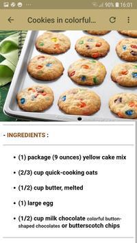 Cookies Recipes Offline screenshot 3