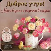 Доброе утро, Добрый день, Доброй ночи icon