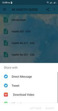 40 Hadith Qudsi screenshot 2