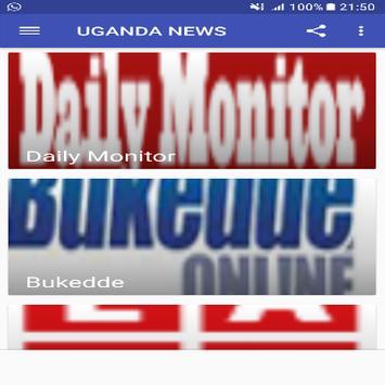 UGANDA NEWS screenshot 1
