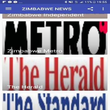 ZIMBABWE NEWS screenshot 2