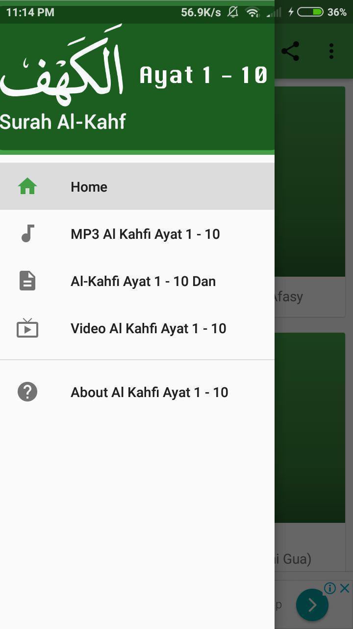 Al Kahfi Ayat 1 10 For Android Apk Download
