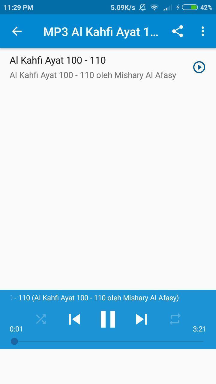 Al Kahfi Ayat 100 110 For Android Apk Download