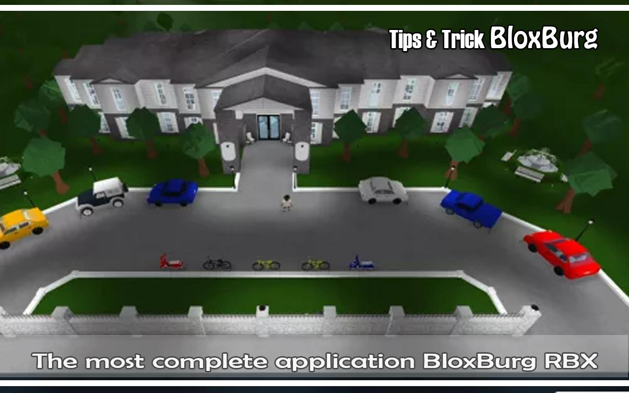 Welcome To For Tips Trick Bloxburg Roblox For Android Apk Download