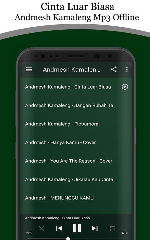 Cinta Luar Biasa Andmesh Kamaleng Mp3 Offline For Android Apk