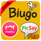 New Guide Biugo, Meitu & PicSay Pro Late Edition icon