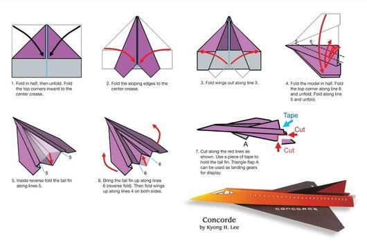Paper Airplane Tutorial screenshot 5