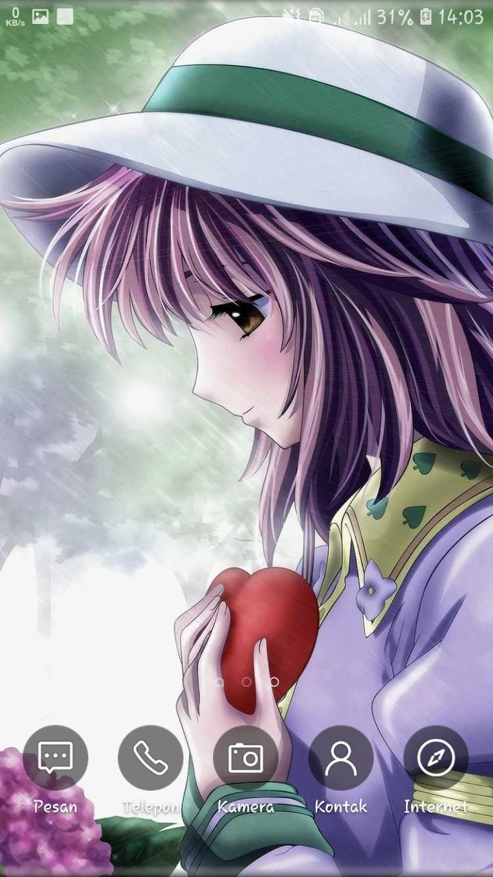 Sad Wallpapers Anime Lonely Girls Sad Quote For Android
