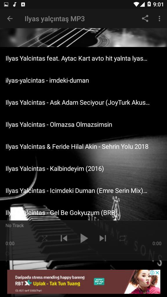 Ilyas Yalcintas Yagmur Songs For Android Apk Download
