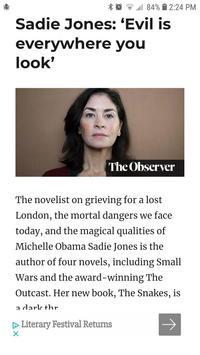 Book Reading News and Reviews screenshot 2