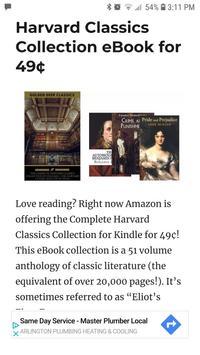 Kindle News - News and Deals for Amazon's Kindle screenshot 2
