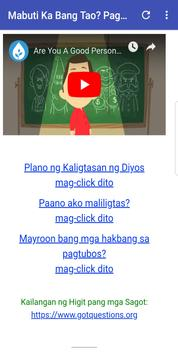 Ikaw ba ay Mabuting Tao? Pagsusulit screenshot 2