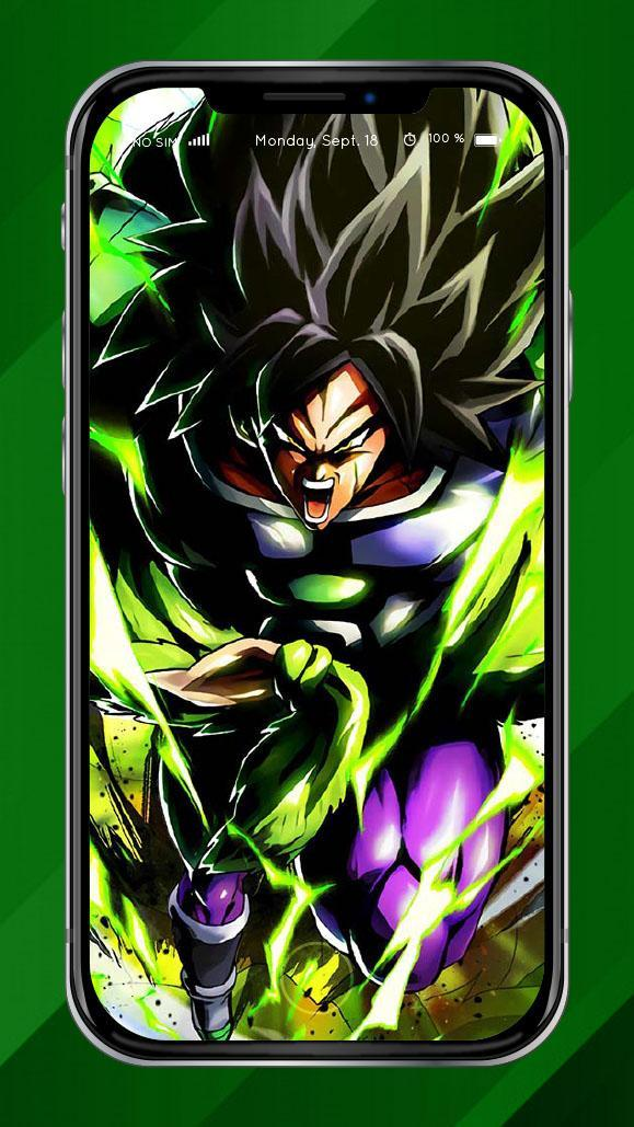 Super Broly Wallpapers For Android Apk Download