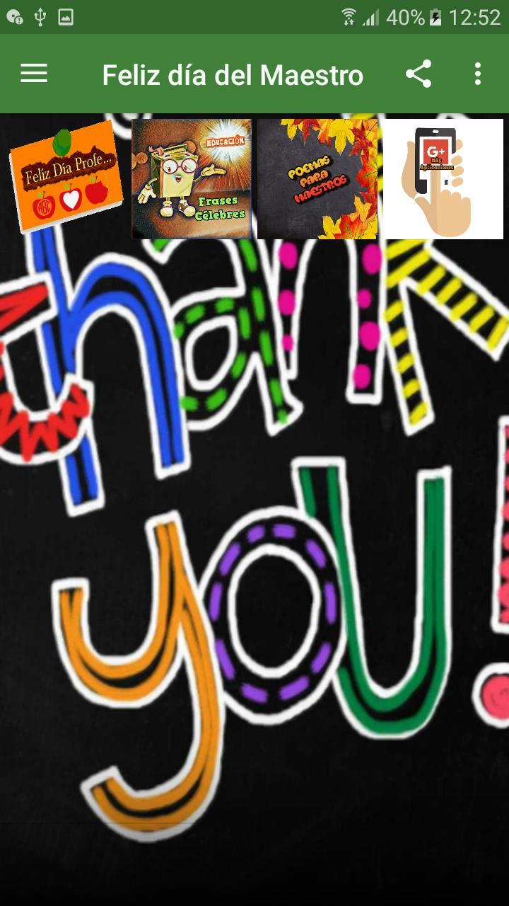 Feliz Día Del Maestro For Android Apk Download