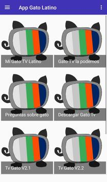 Gratis Gato TV  Latino for Android info poster
