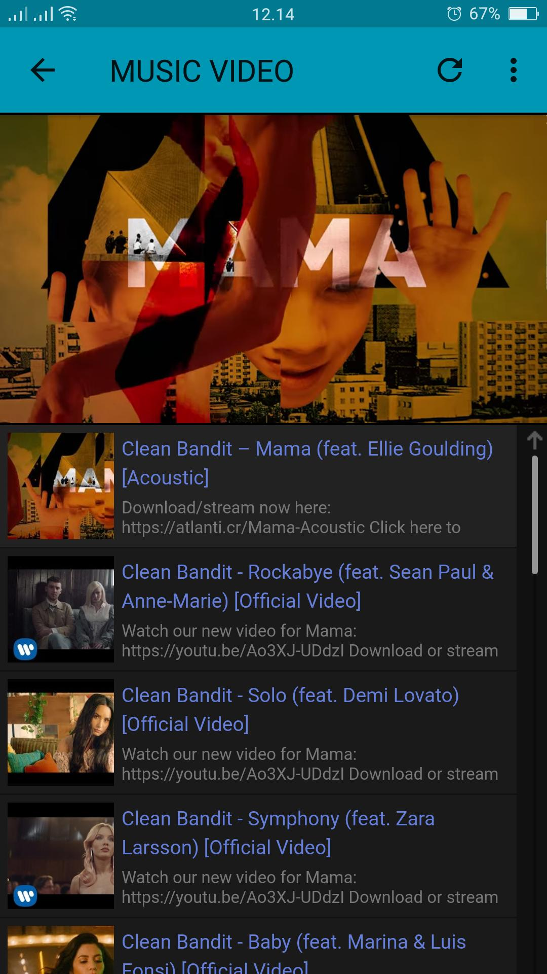 Clean Bandit Lyrics for Android - APK Download