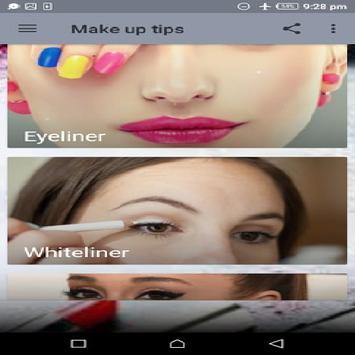 Make up tips screenshot 1