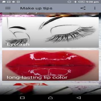 Make up tips screenshot 2