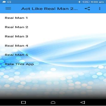 Act Like Real Man 2019 offline screenshot 1