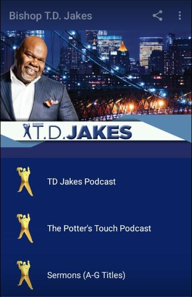 Bishop T D  Jakes Sermons for Android - APK Download