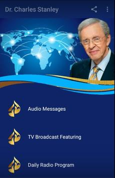 Dr. Charles Stanley poster
