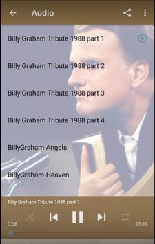 Billy Graham Sermons Ekran Görüntüsü 1