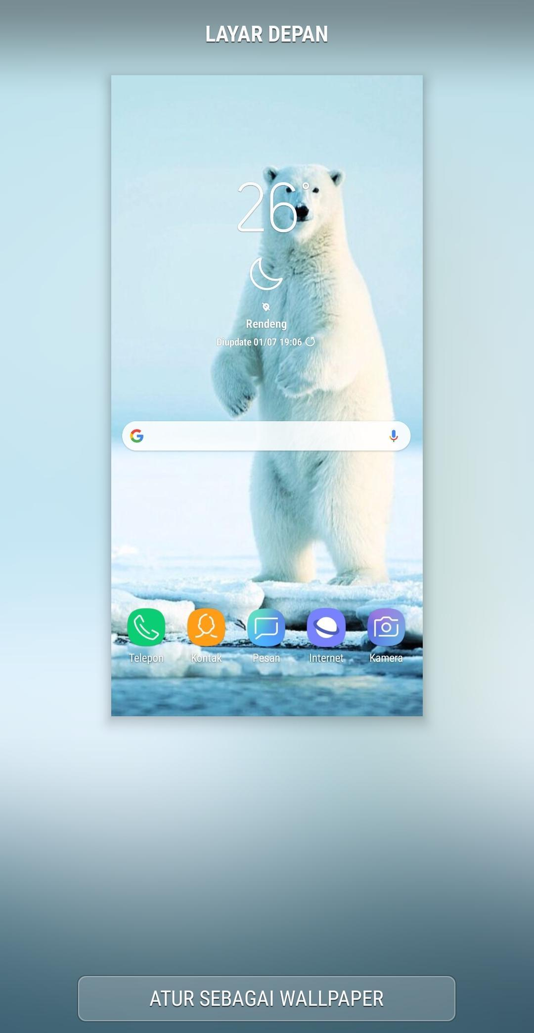 Background Polar Bears Wallpaper For Android Apk Download