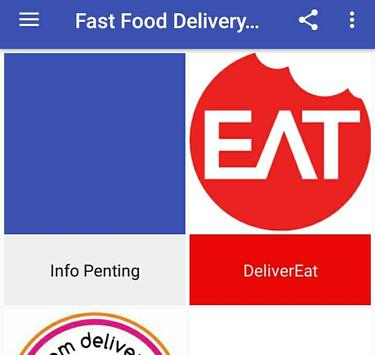 Fast Food Delivery Malaysia In 1 Apps screenshot 1