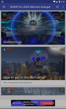 Guide game for LEGO Marvel's Avengers screenshot 1
