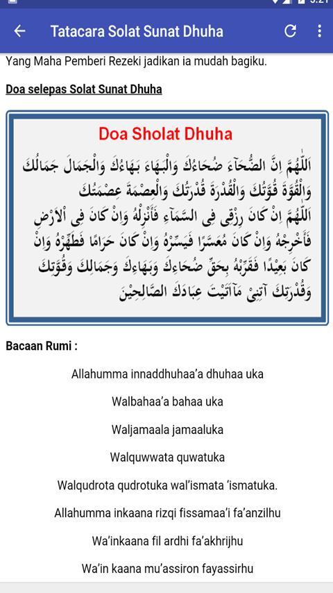 Jom Belajar Solat Sunat Dhuha For Android Apk Download