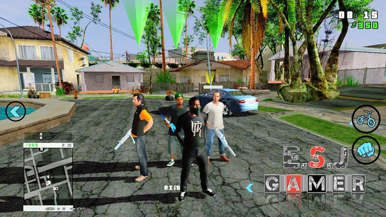 gta san andreas mod free download for android