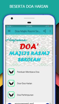 Doa Majlis Rasmi Sekolah screenshot 1