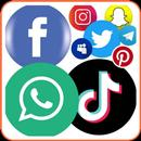 All social media and social network all in one app APK Android