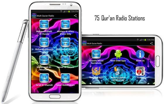 Multi Quran Radio poster