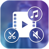 Video to Mp3 : Mute Video /Trim Video/Cut Video 图标
