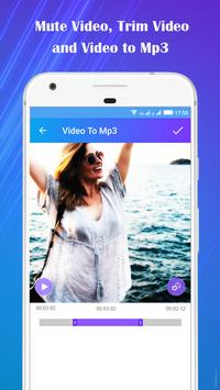 Video to Mp3 : Mute Video /Trim Video/Cut Video screenshot 2