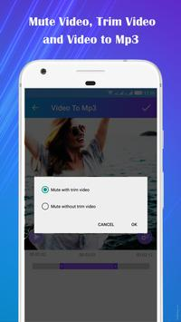 Video to Mp3 : Mute Video /Trim Video/Cut Video screenshot 5