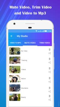 Video to Mp3 : Mute Video /Trim Video/Cut Video screenshot 6