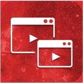 Video Popup Player أيقونة