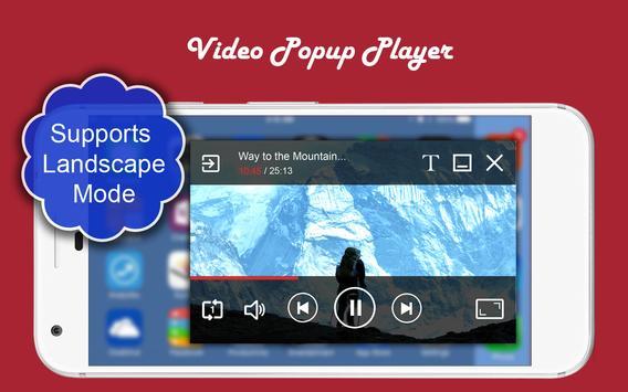 Video Popup Player تصوير الشاشة 2