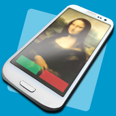 Full Screen Caller ID Zeichen