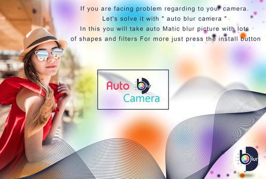 Auto Blur Camera - DSLR Camera poster