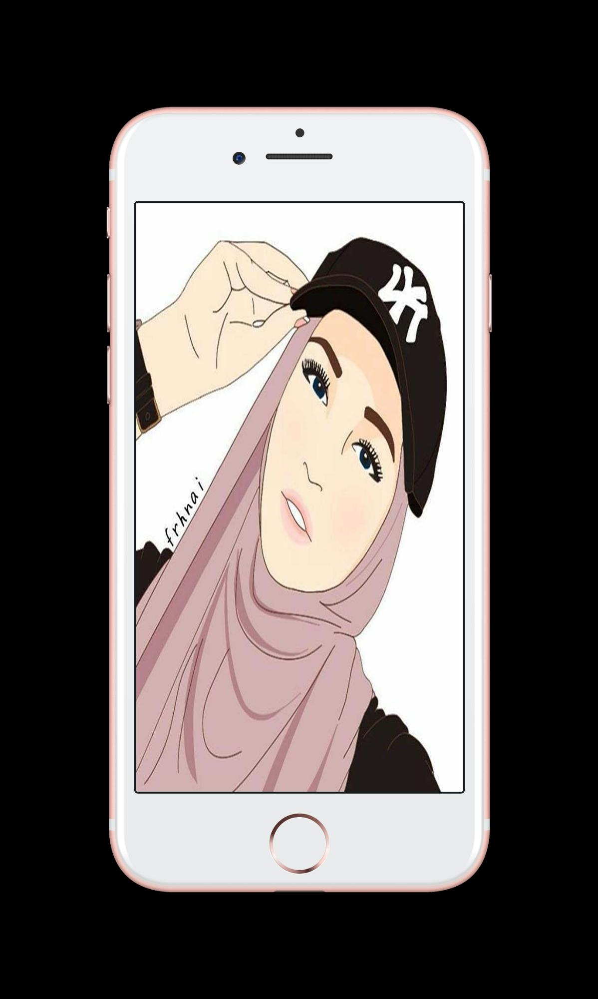 Hijab Cartoon Wallpaper For Android APK Download