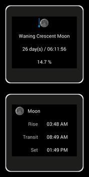 Lunar Phase for SmartWatch screenshot 3